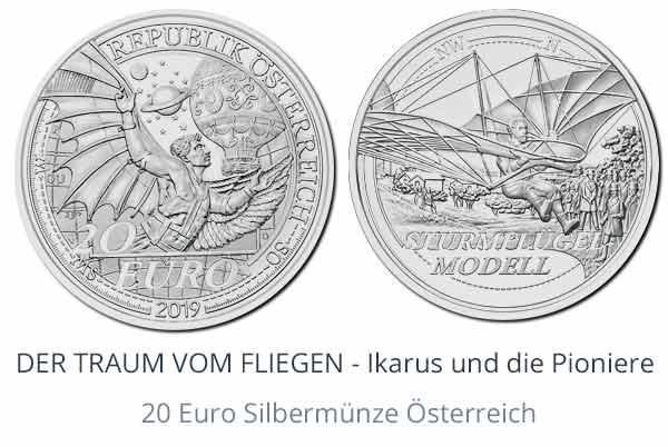 Neu: Der Traum vom Fliegen - Euro Österreich 2019