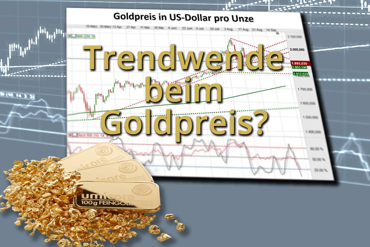 Trendwende beim Goldpreis?
