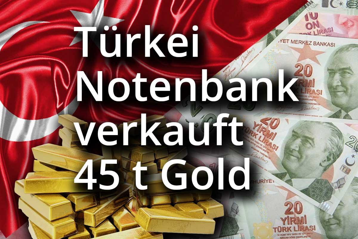 Türkische Notenbank verkauft Gold – Gesamtnachfrage bleibt positiv