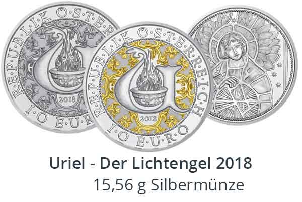 Uriel – Der Lichtengel 10 Euro Sammlermünze