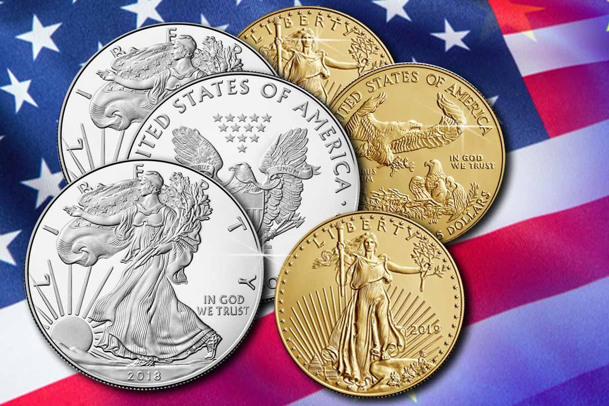 US Mint: Nachfrage bei Gold- und Silbermünzen explodiert