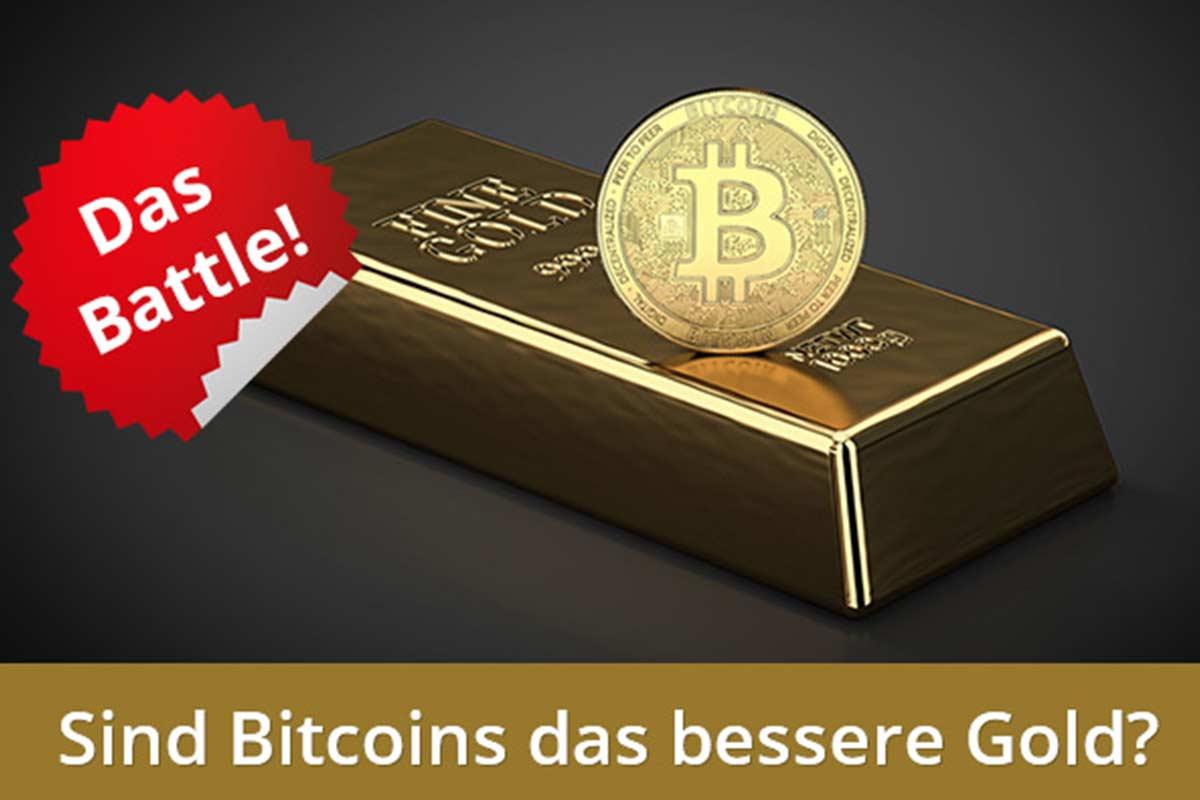 Bitcoin oder Gold: Welche Geldanlage ist besser? Der Vergleich!
