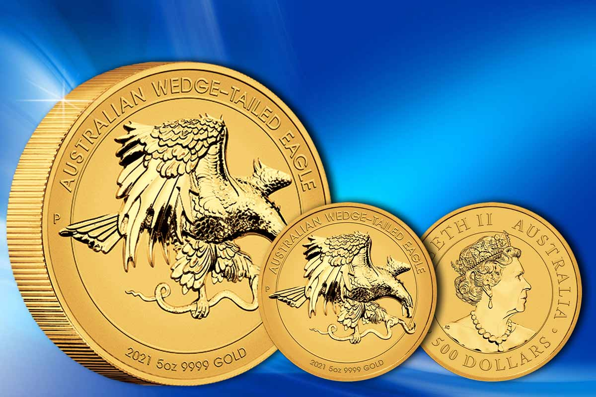 Wedge-Tailed Eagle Gold Reverse Proof Ultra High Relief - Jetzt Neu!