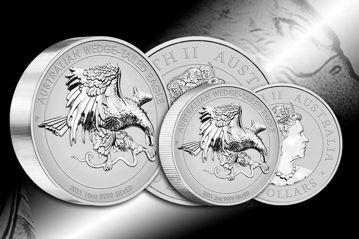 Wedge-Tailed Eagle Silber – Jetzt neu Sammlerausgaben 2021!