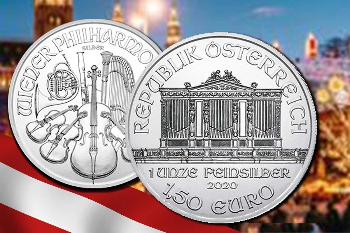 Wiener Philharmoniker Silber 2020 - ist da!