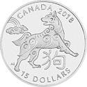 Canada Lunar Serie Motiv 2018