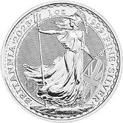 Thumb Britannia Silbermünze