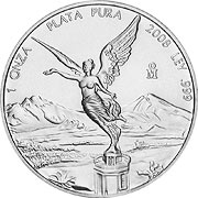 Thumb Libertad Silbermünze