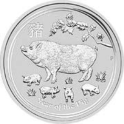 Thumb Lunar Serie II  Silbermünze