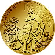 Thumb Känguru Goldmünze