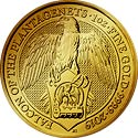Queens Beasts Gold Falcon of the Plantagenets