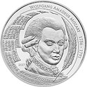 Mozart Coin Motiv 2017