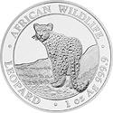 Somalia Leopard Motiv 2018