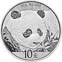 China Panda Motiv 2018