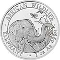 Somalia Elefant  Motiv 2018