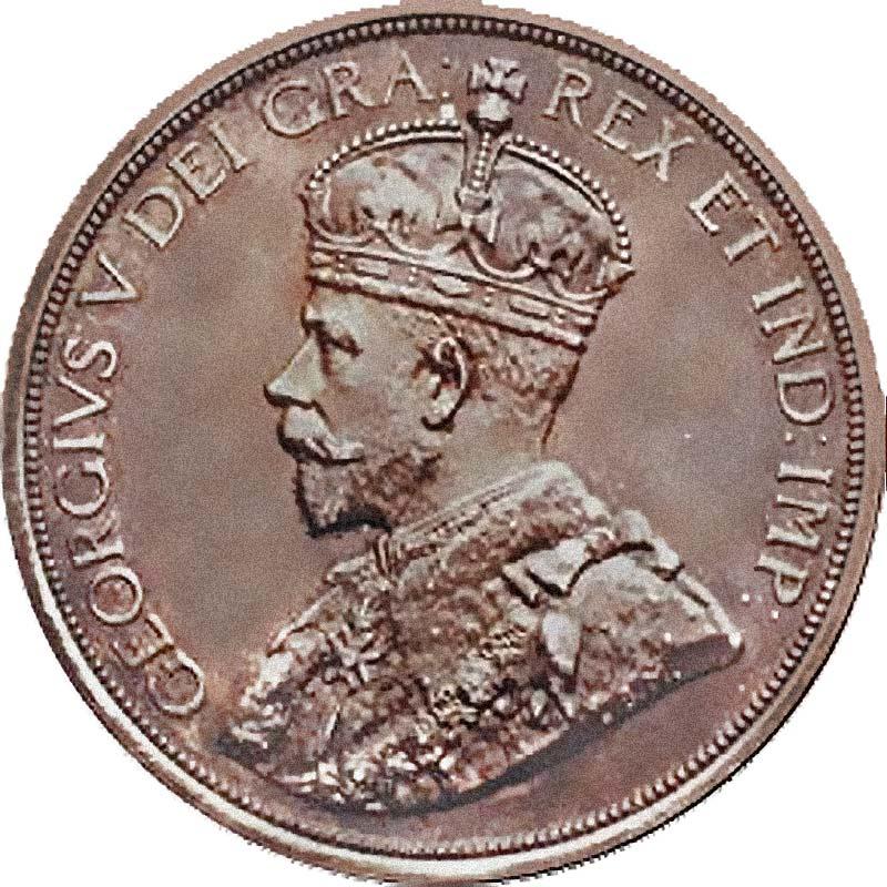 Dei Gratia Dollar Kanada 1911