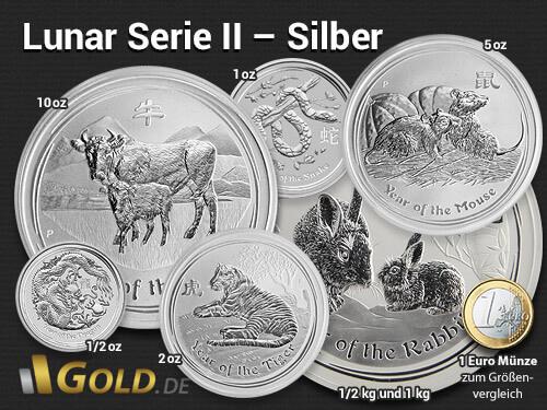 Lunar II Silber Australien
