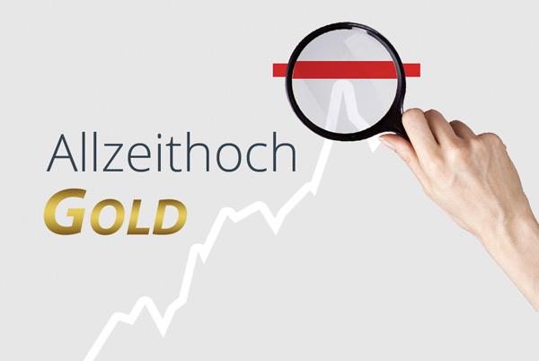 Gold Allzeithoch