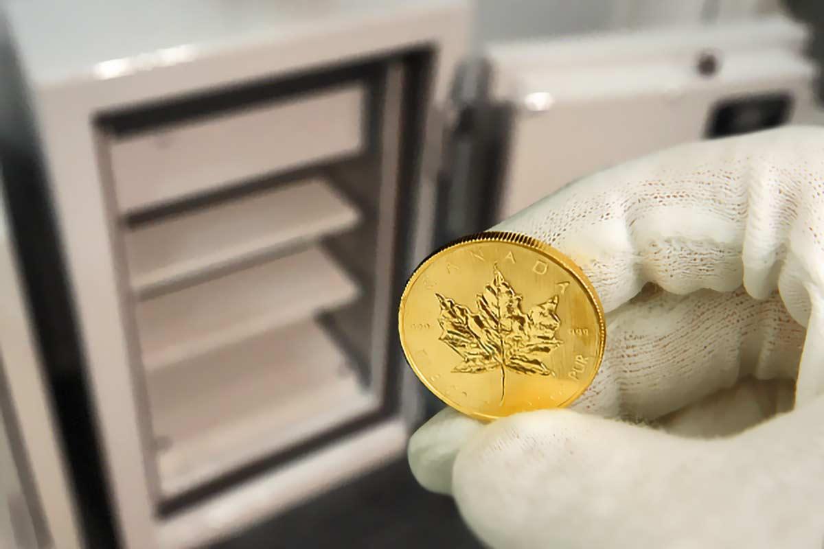 Goldlagerung: Wie Sie gut und sicher Gold lagern