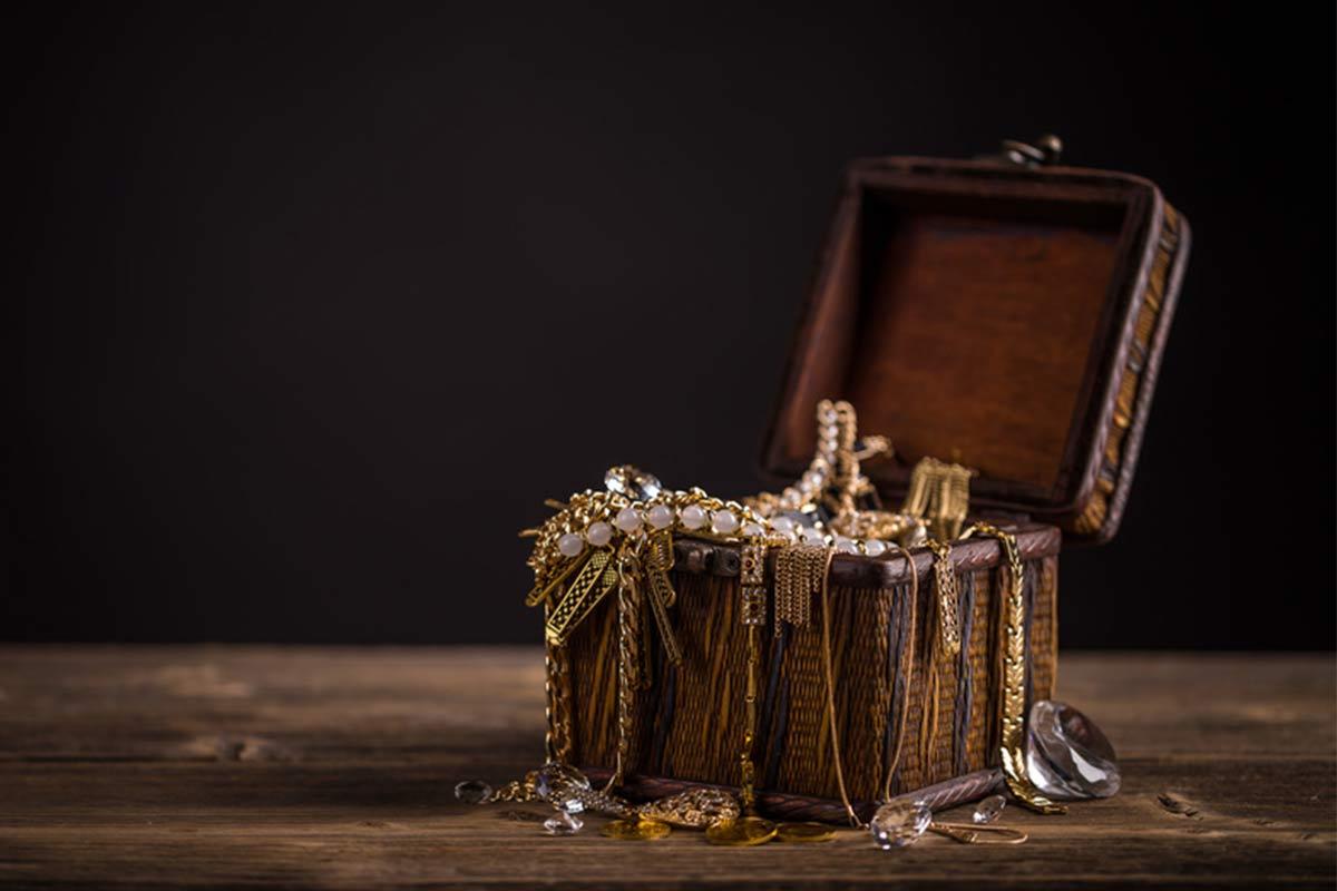 Goldschätze und Funde