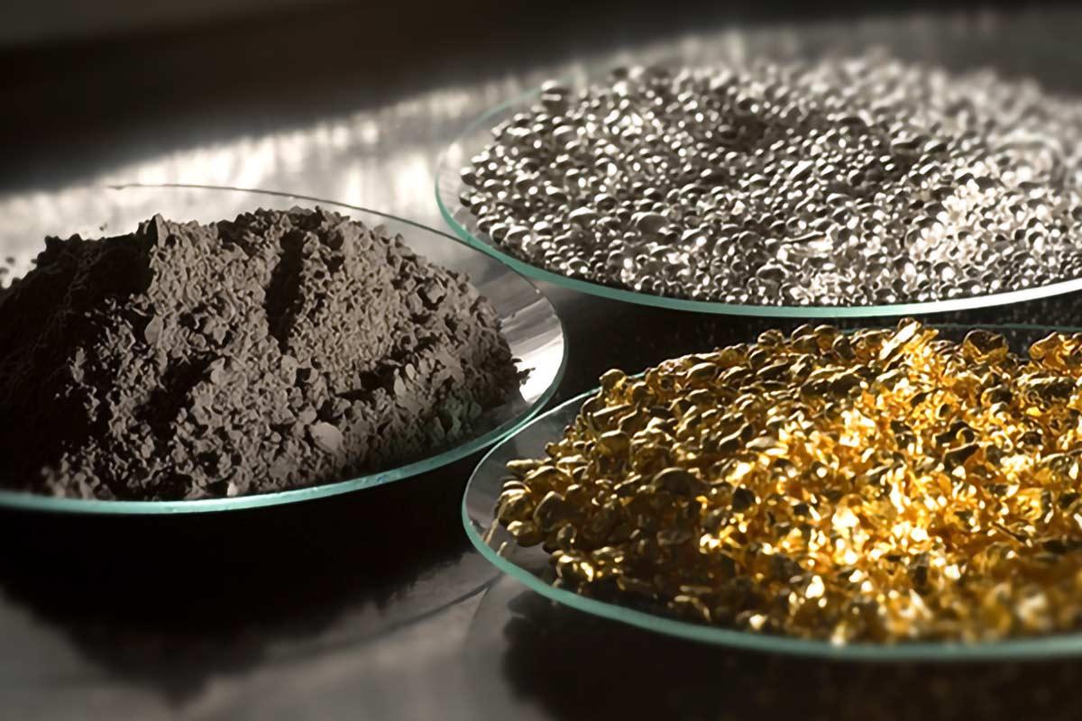 Rohstoffe: Edelmetalle und unedle Metalle