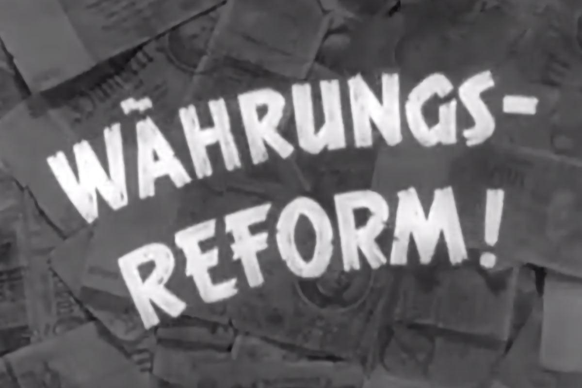 Währungsreform 1923/1948