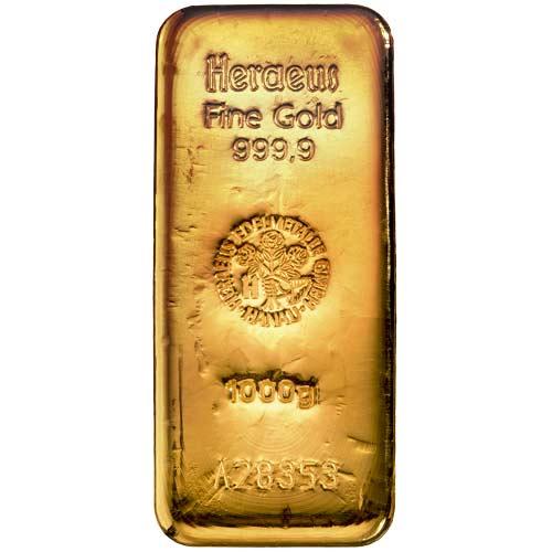 goldbarren 25 kg preis