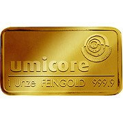 1 oz (Unze) Goldbarren