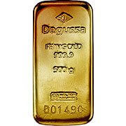 1/2 kg Goldbarren