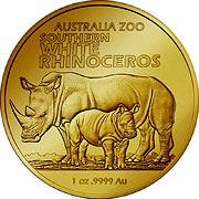 Australia Zoo Goldmünze