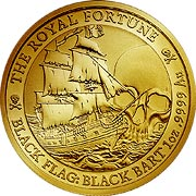 Black Flag Goldmünze