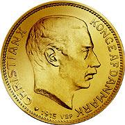 Dänemark, Kronen Goldmünze
