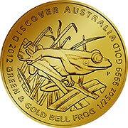 Discover Australia Goldmünze
