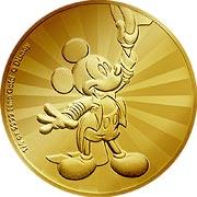Disney Goldmünze