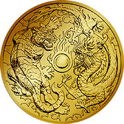 Dragon & Phoenix Gold Serie  Goldmünzen