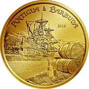Eastern Caribbean Goldmünze