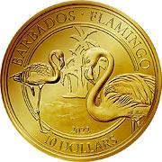 Flamingo Goldmünze