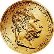 Florin Goldgulden Goldmünze