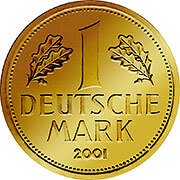 Goldmark Goldmünze