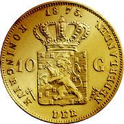 Gulden Niederlande Goldmünze