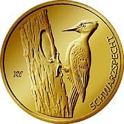 Heimische Vögel Goldmünze