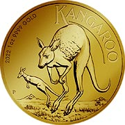 Känguru Goldmünze