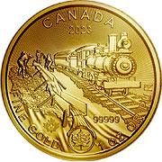 Klondike Gold Rush Goldmünze