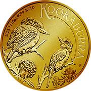 Kookaburra Goldmünze