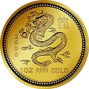 Lunar Serie I  Goldmünzen
