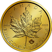 Maple Leaf  Goldmünzen
