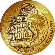Nautical Ounce Goldmünzen