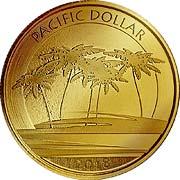 Pacific Dollar Goldmünze