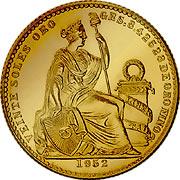 Peru Sol de Oro Goldmünze