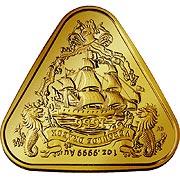 Schiffswrack Serie Goldmünze